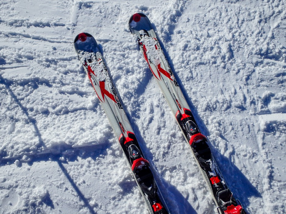 skidor snö