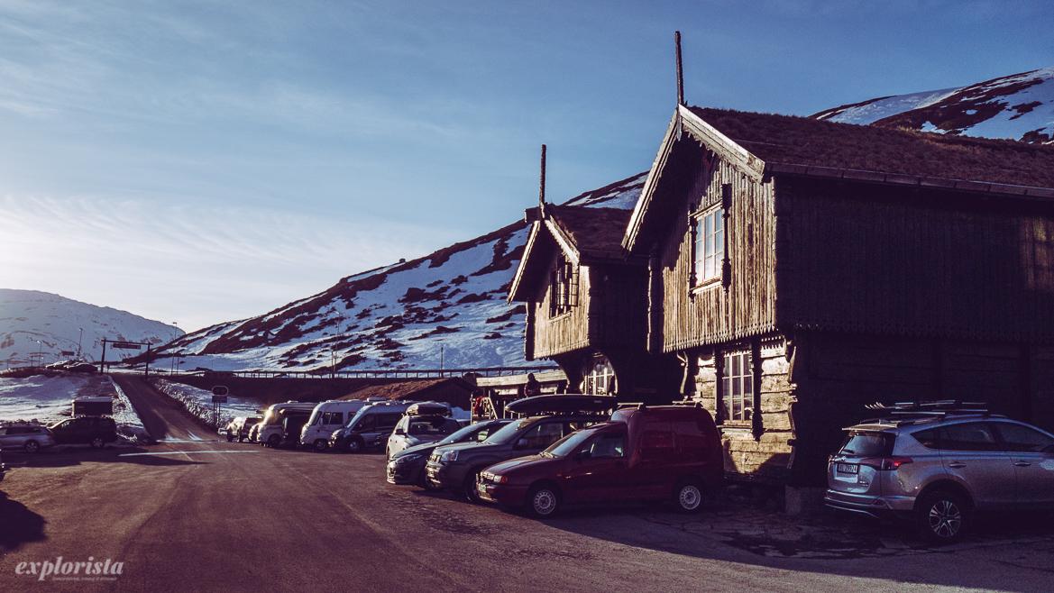 Stabburet och Kuskeloftet i Haukeliseter
