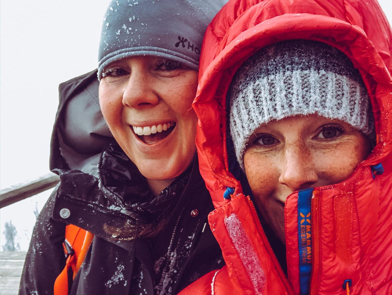 Sara Rönne och Emmi Explorista