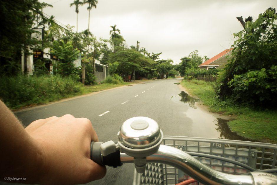 cykel på väg