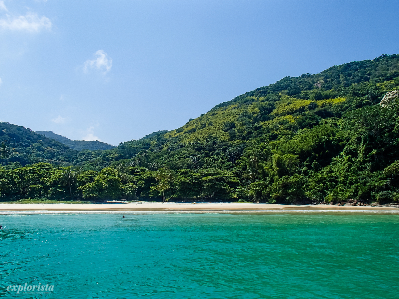 strand ilha grande, brasilien