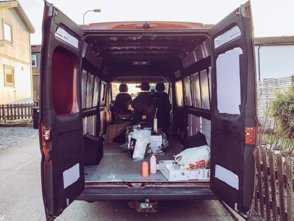 Isolering för campervan: Armaflex, XPS och fogskum