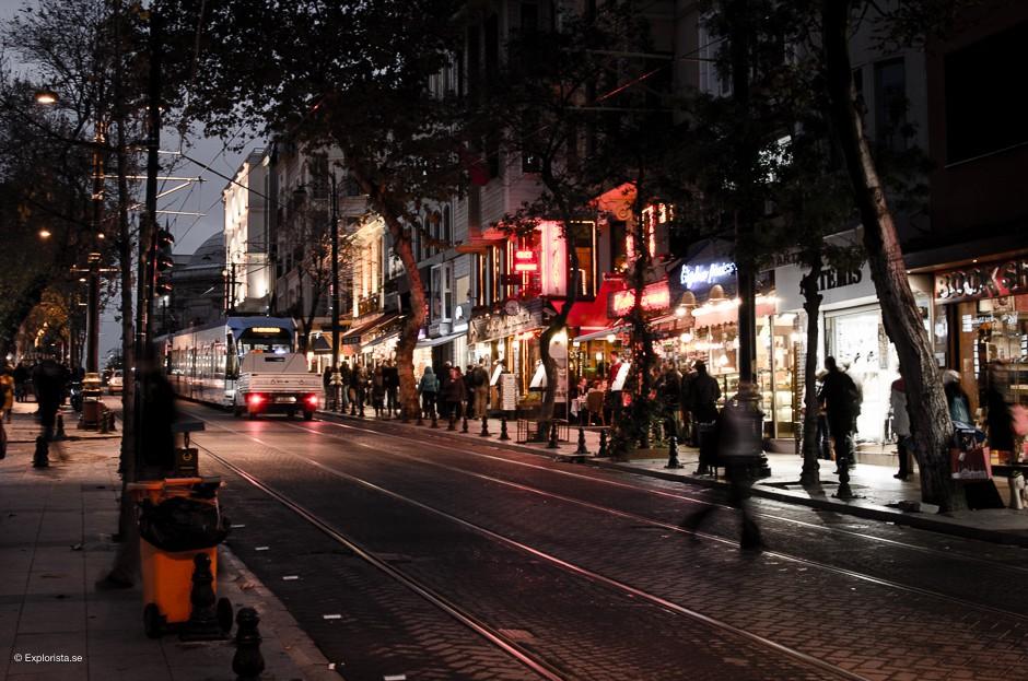 istanbul kväll