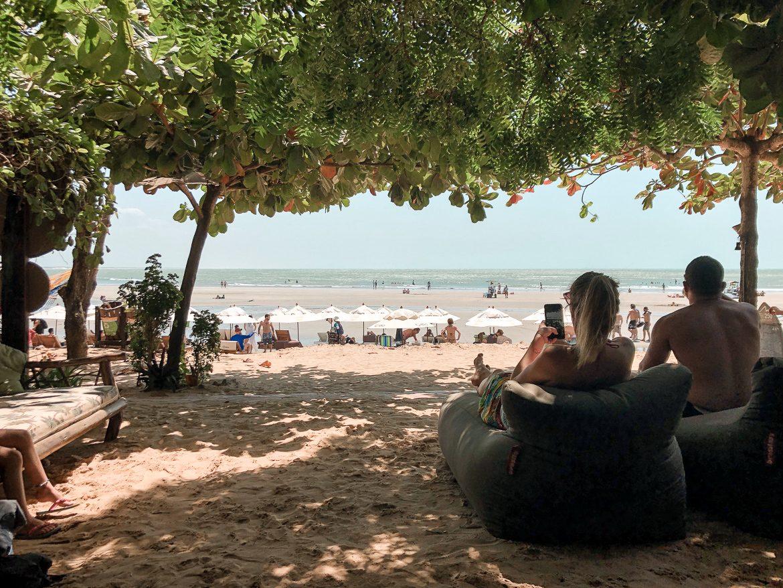 Jericoacoara Brasilien restaurang