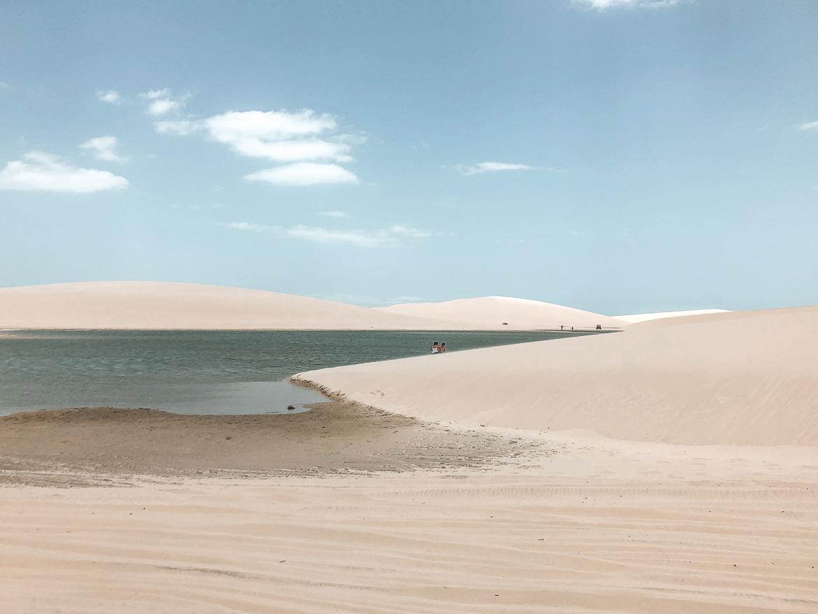Jericoacoara Brasilien sanddynor