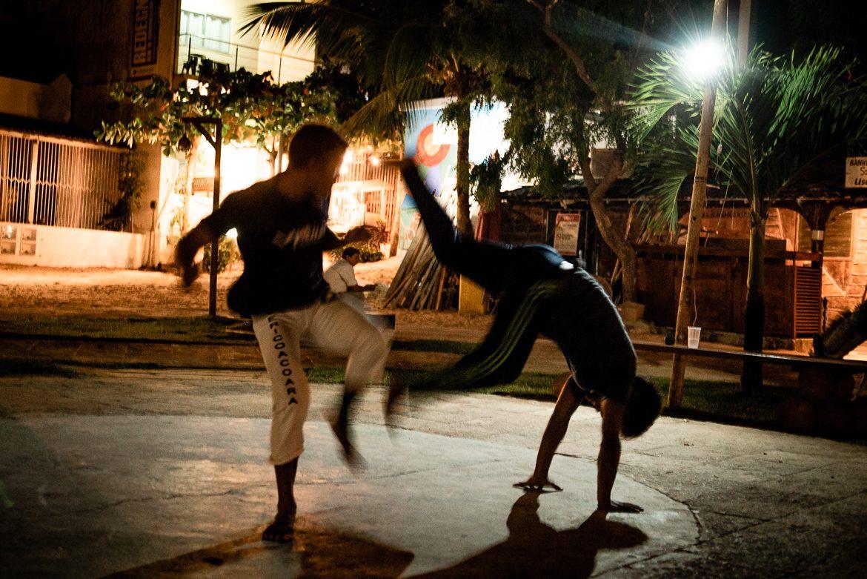 capoeira Jericoacoara Brasilien