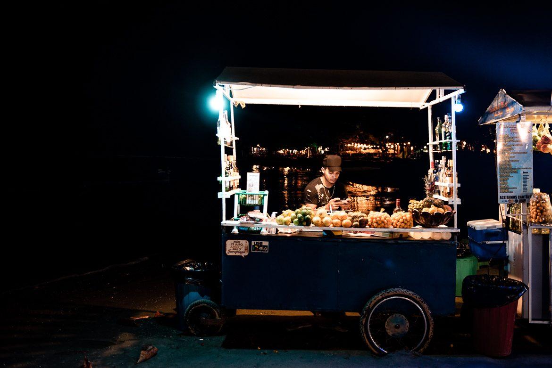 Jericoacoara Brasilien drinkvagn