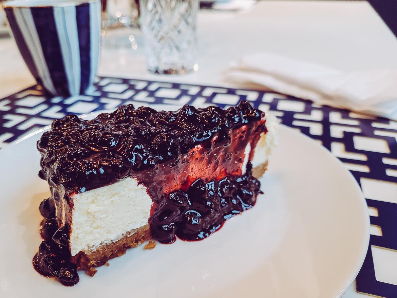 Jimmy & Joan's New York i Göteborg cheesecake