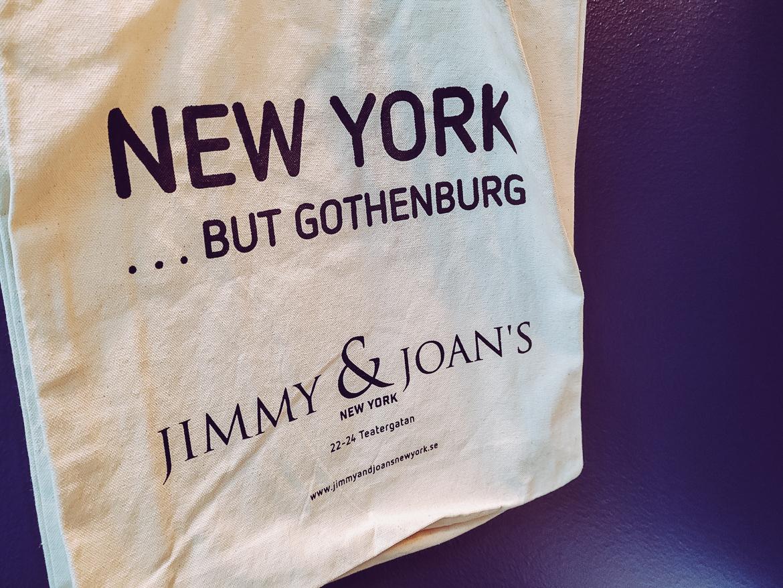 Jimmy & Joan's New York i Göteborg