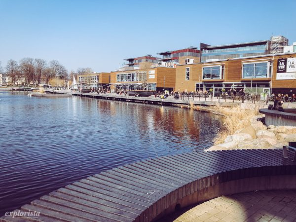 Bryggan vid Munksjön i Jönköping