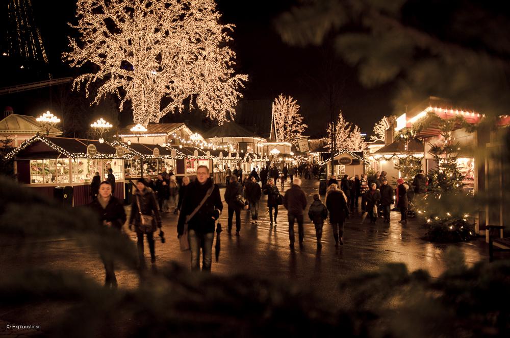 Människor - Jul på Liseberg