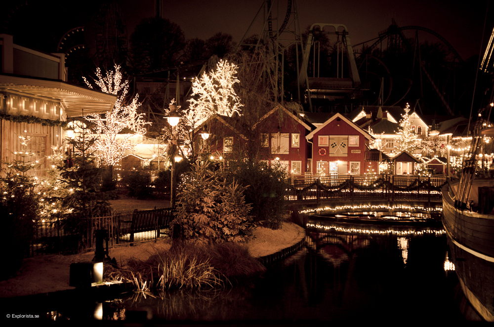 By - Jul på Liseberg
