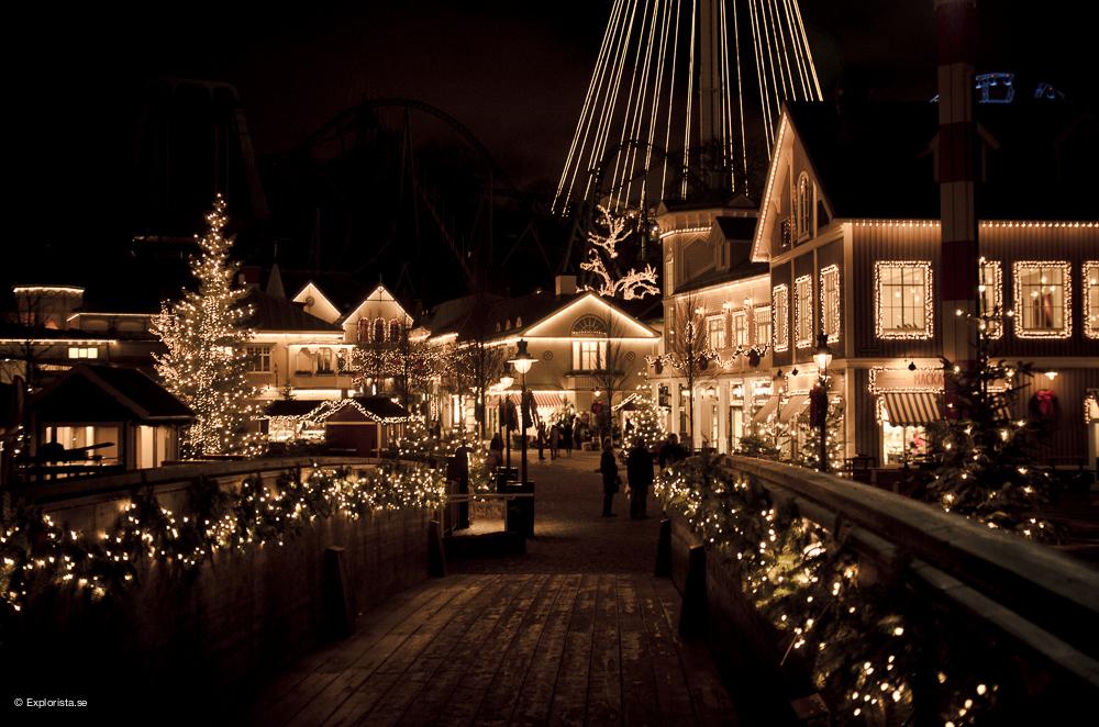 Belysning - Jul på Liseberg