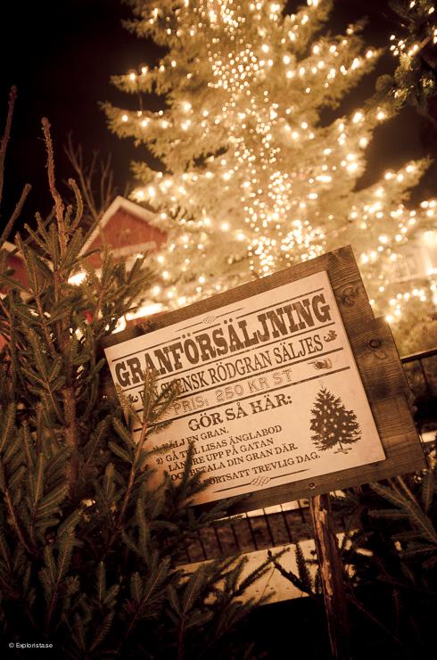 Granförsljning - Jul på Liseberg