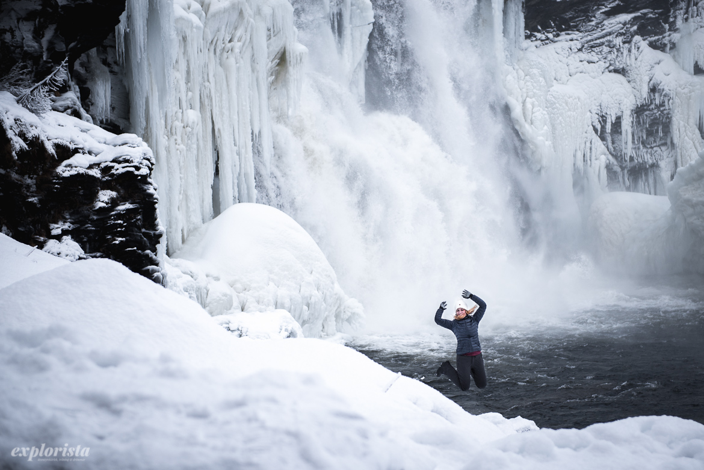 katta vid vattenfallet