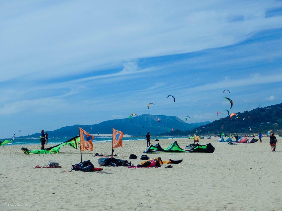 beach kitesurf