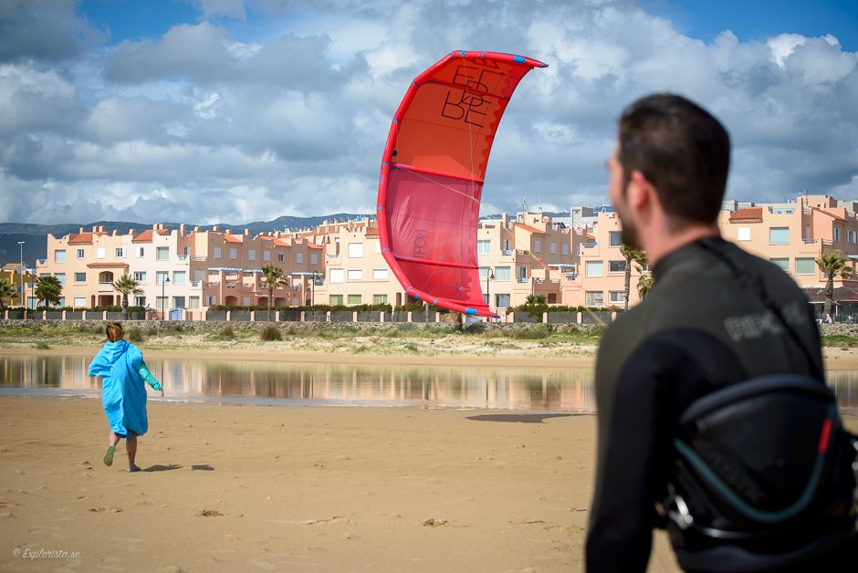 kitesurf launch