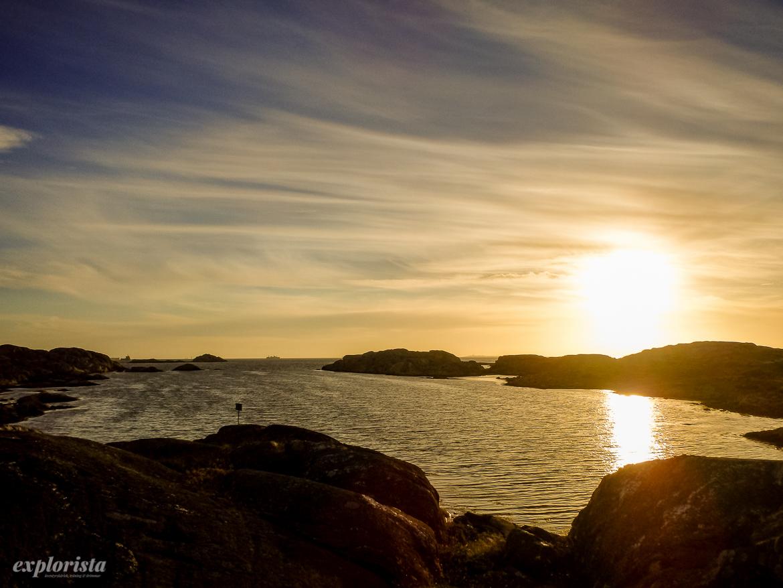 solnedgång stora rävholmen göteborg