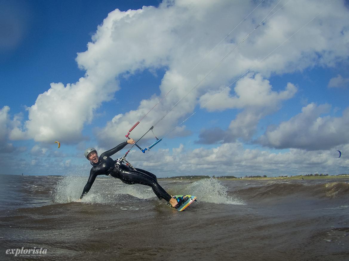 kitesurfare