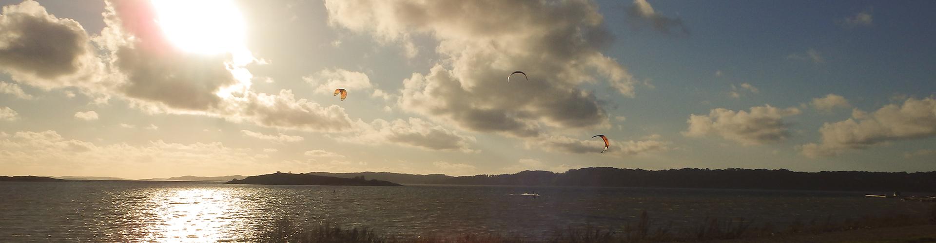 Kitesurf Getskär