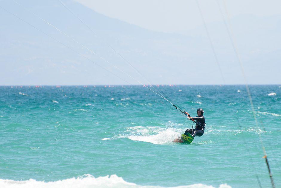kitesurfare tjej