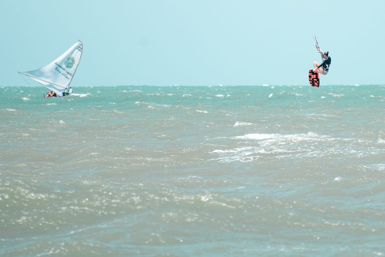 kitesurftjej & båt