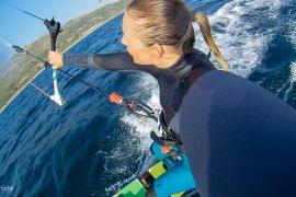 explorista kitesurftjej