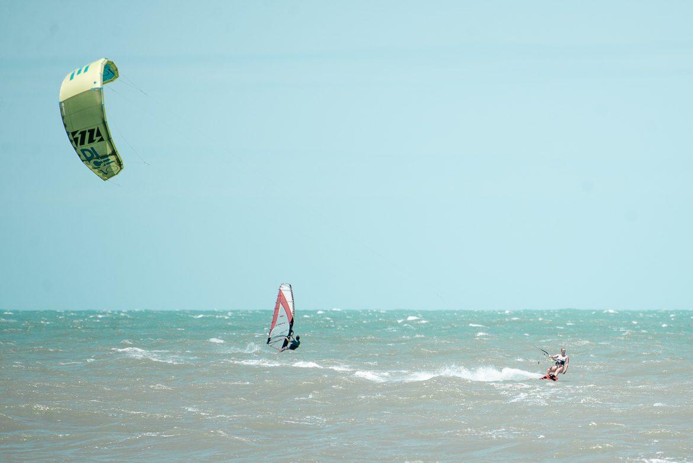 Kitesurftjej med Dice 10