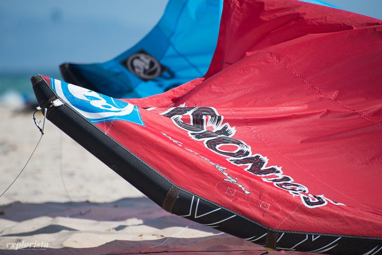 kite, utrustning för kitesurf