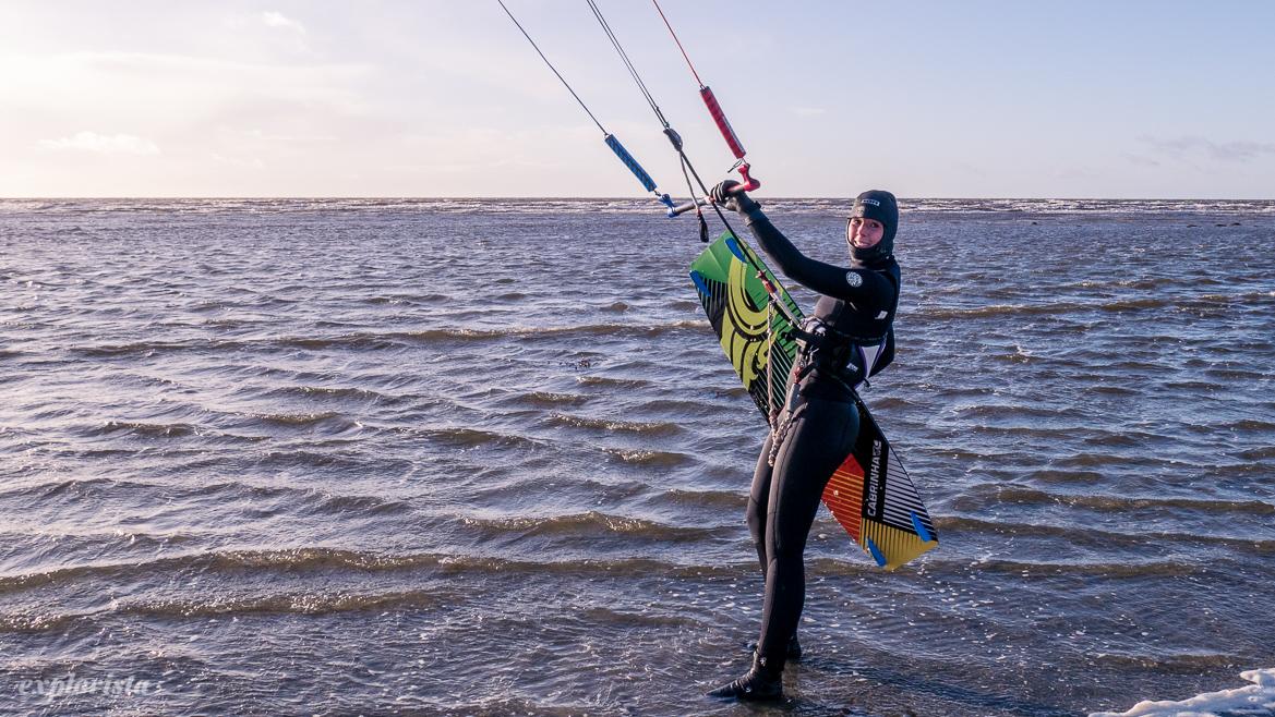 explorista kitesurftjej höst