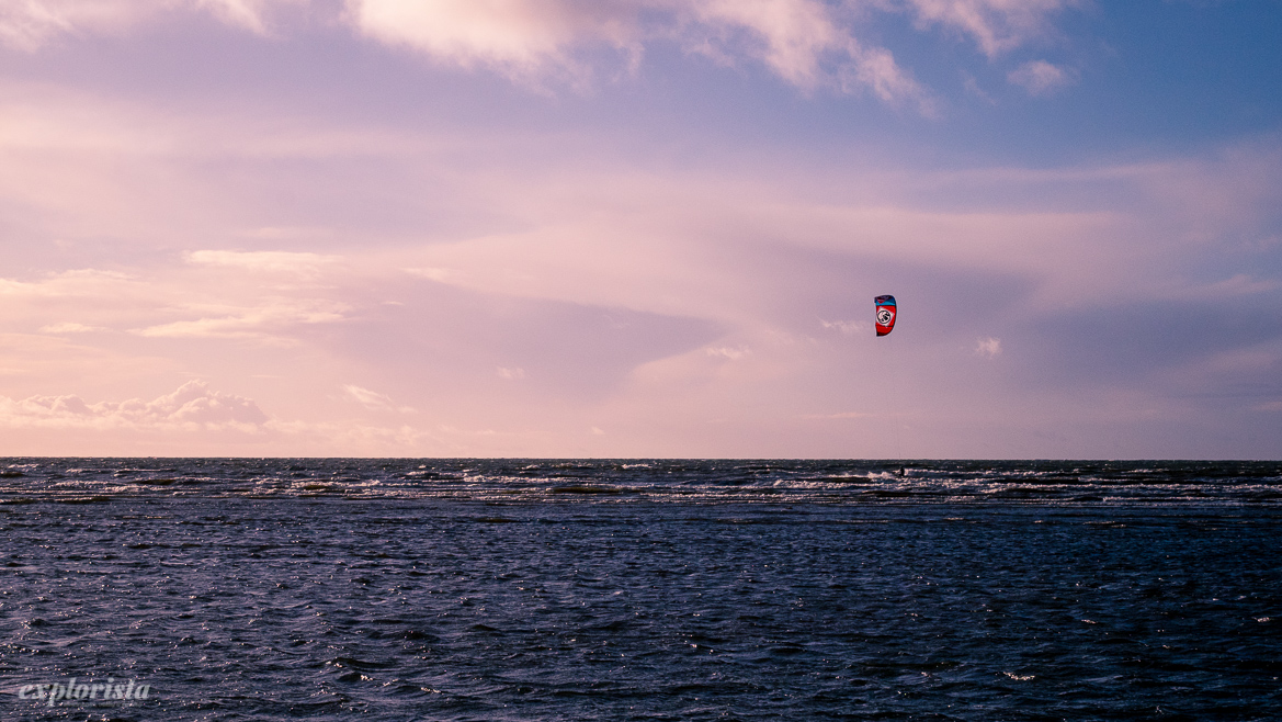 kitesurf november sverige
