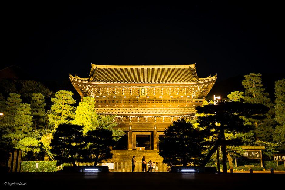 nattfoto tempel