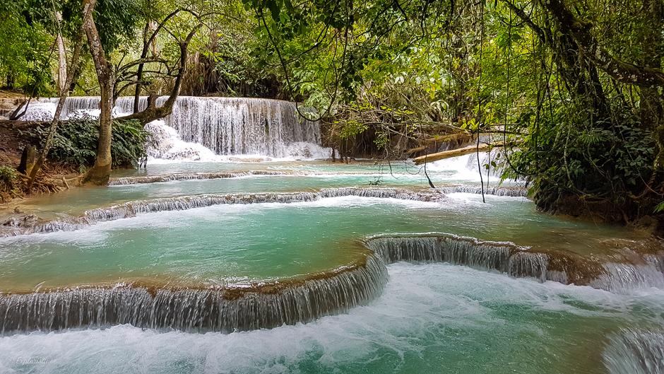 vattenfall djungel luang prabang