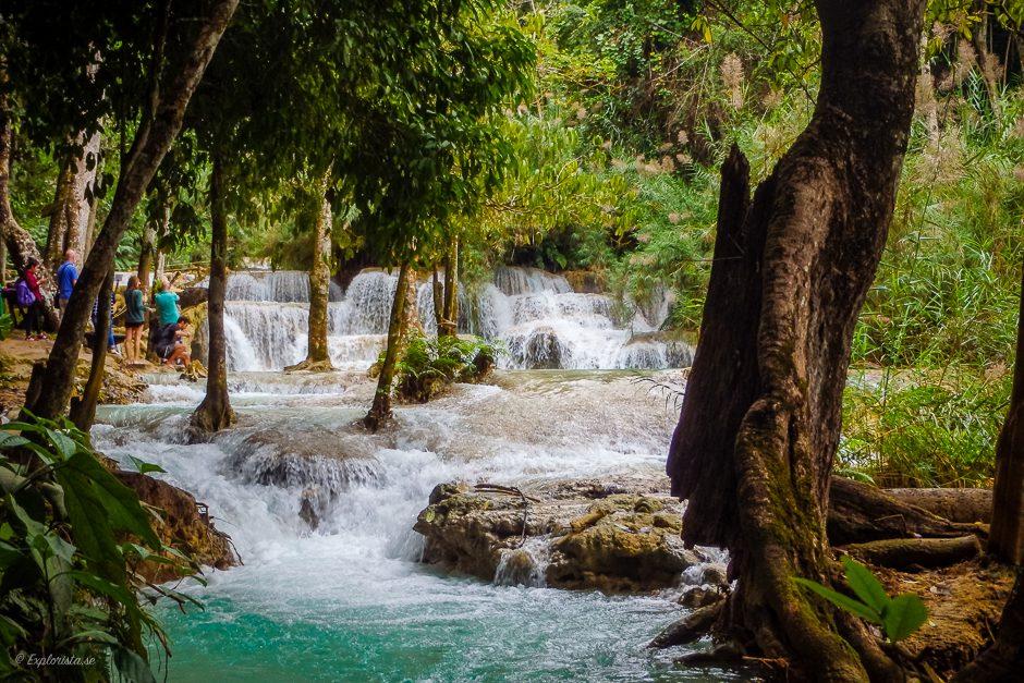 turkos vattenfall luang prabang