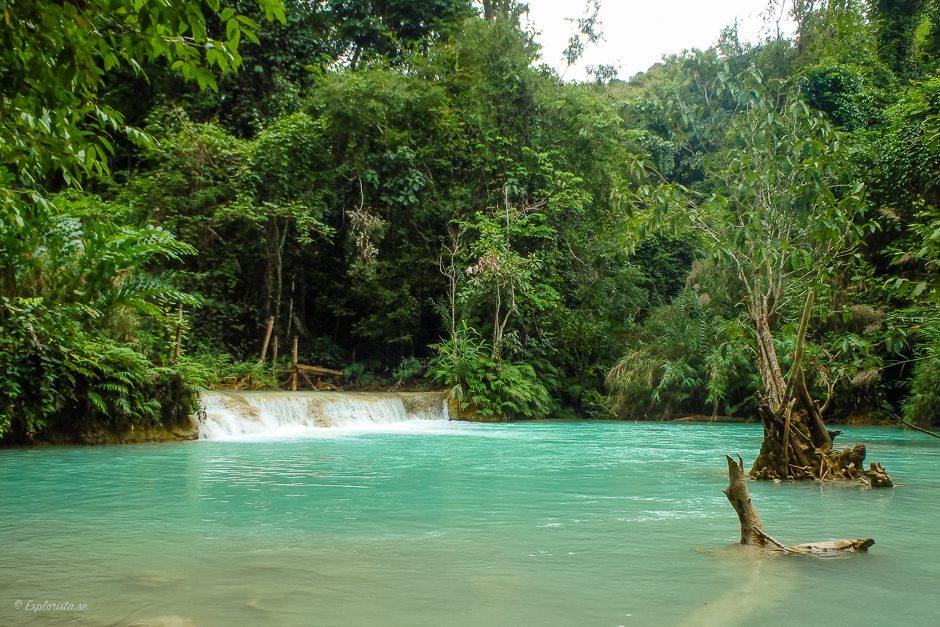 turkost vattenfall