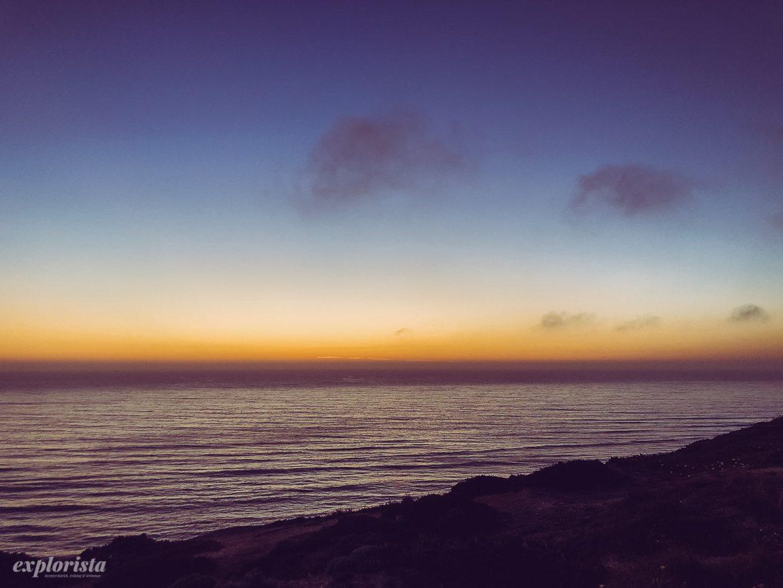 sunset i Ericeira
