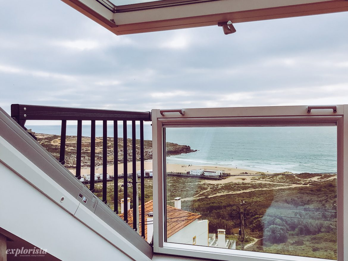 view from lapoint ericeira room