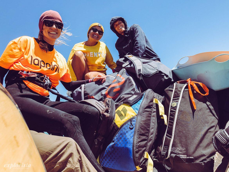 Lapoint kite camp Esposende båttur