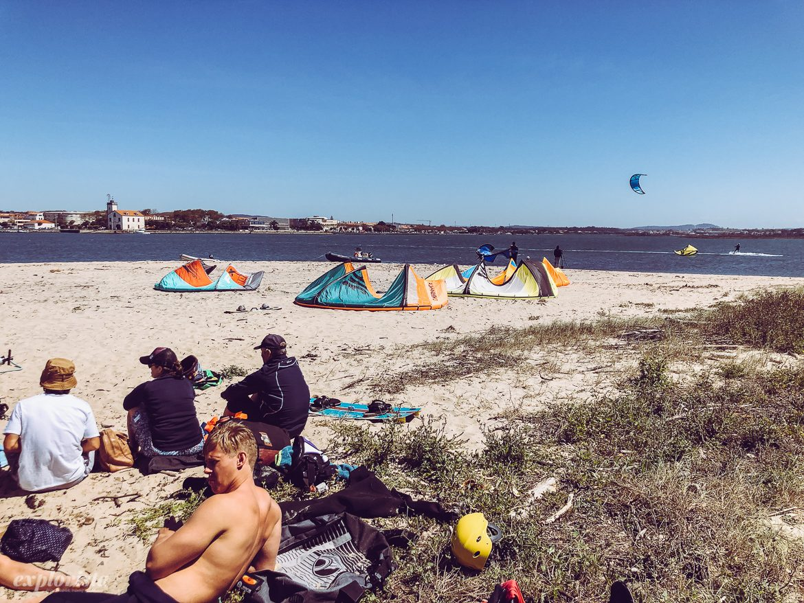 Esposende kite beach