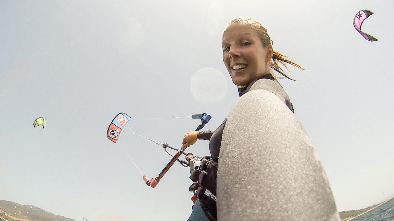 explorista lära sig kitesurfa