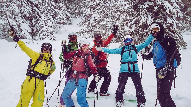 lavinkurs SVELAV Friåkning 1 med Summit guides i Åre