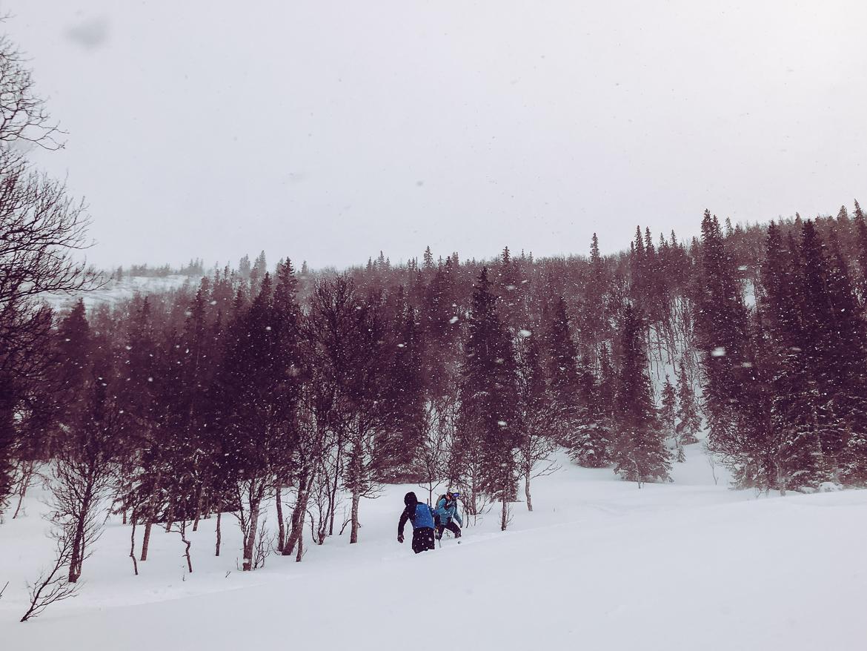 snöigt åre