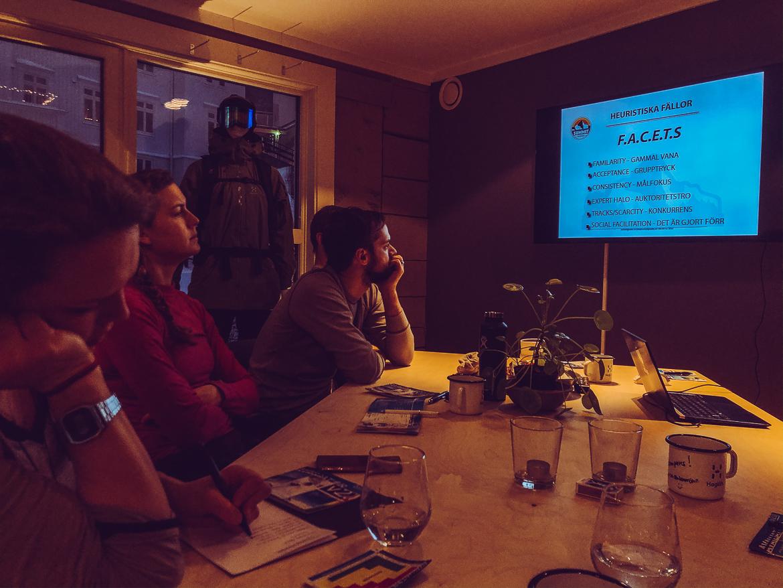 lavinkurs SVELAV Friåkning 1 med Summit guides i Åre - F.A.C.E.T.S