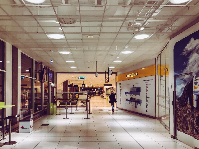Landvetter flygplats corona