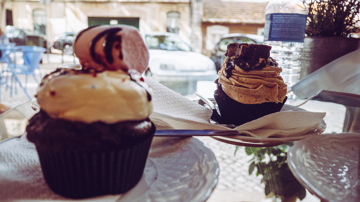 cupcakes på Tease i Lissabon
