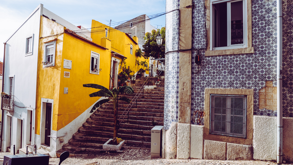 Lissabon trappa