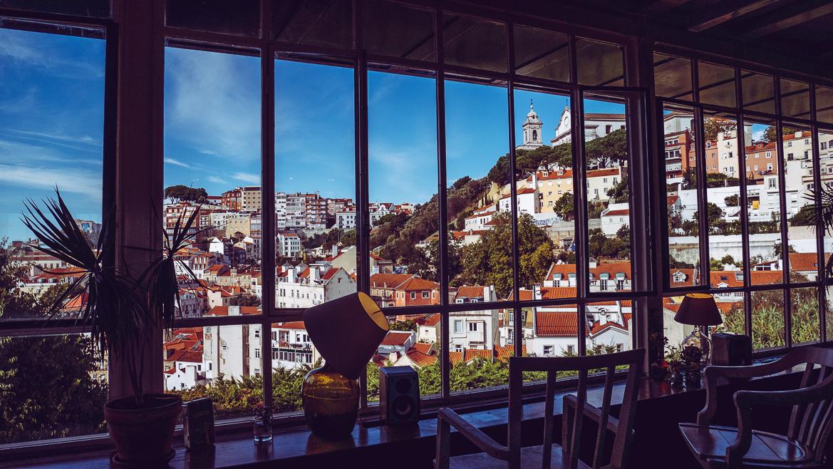 Café do Garagem i Lissabon