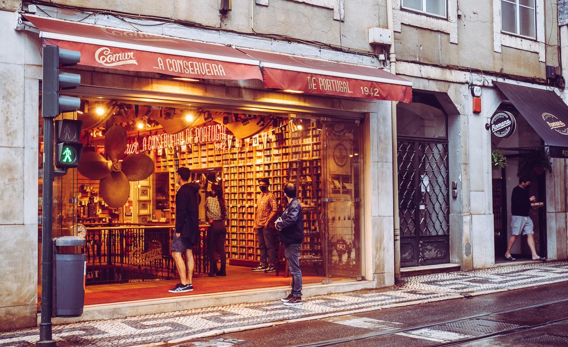 Sardinbutik Lissabon