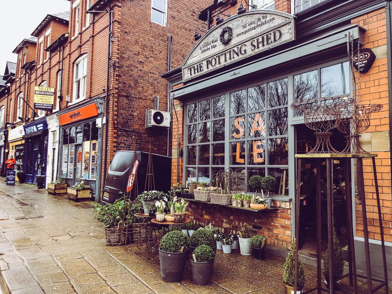 Blomsterbutik Alderley edge