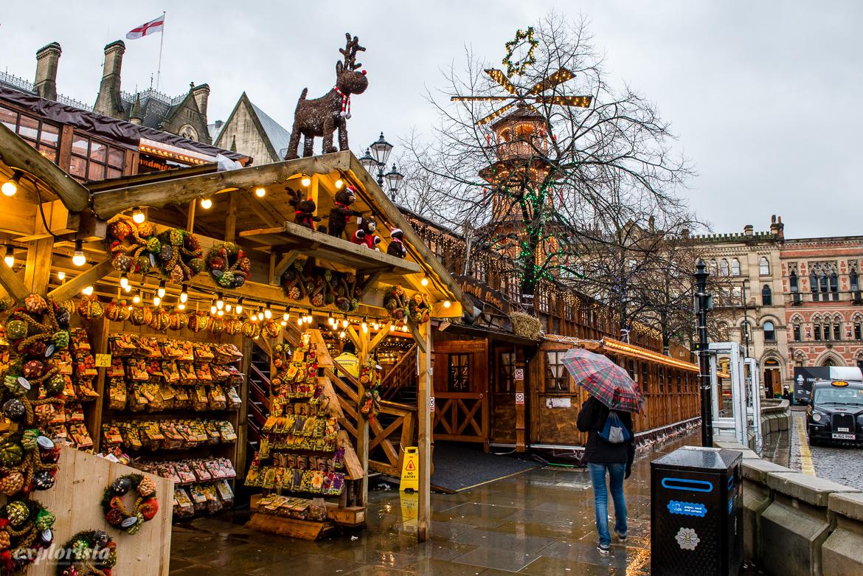 julmarknad i manchester